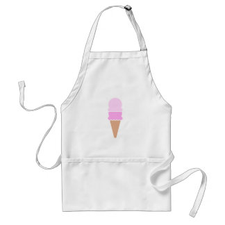 Double Scoop Ice Cream Cone - Pinks Standard Apron