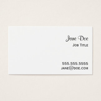 Double Scoop Pink Ice Cream Cone Business Card