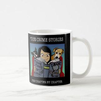 Double Side Crime Stories Mug