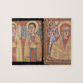 Double-sided Diptych with Mary Puzzle