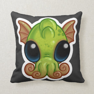 Double sided good/evil Baby Cthulhu Pillow