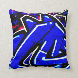 Double Sided Graffiti 1317 Throw Pillow
