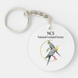 Double sided NCS Key Chain