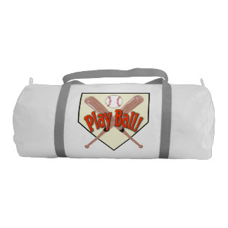 Double Sided Play Ball Duffle Bag