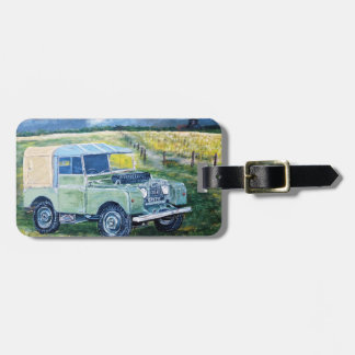 """Double Sided ,Printed Luggage Tag"" Luggage Tag"