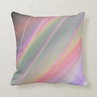 Double sided rainbow 2 Choice colors Throw Pillow