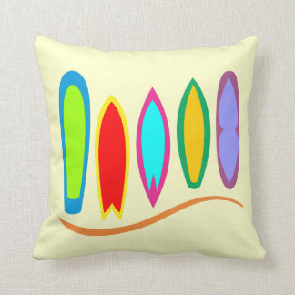 Double Sided Surfboard Alley Pillow