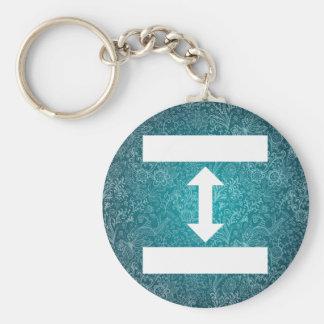 Double Sides Minimal Keychain