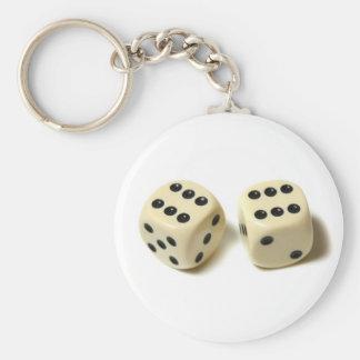 Double Six Keychain