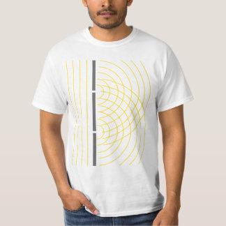 Double Slit Light Wave Particle Science Experiment T-Shirt