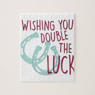 Double The Luck Jigsaw Puzzle