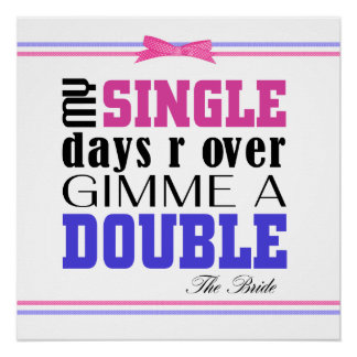 Double Time Bride Perfect Poster