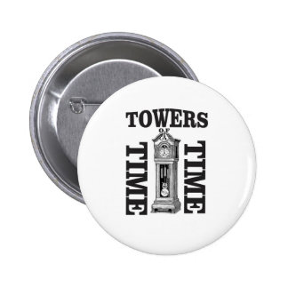 double time towers 2 inch round button
