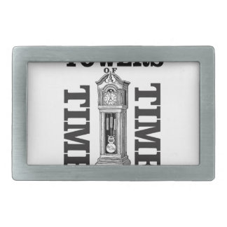 double time towers belt buckle