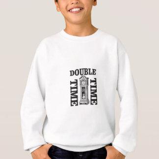 double time two sweatshirt