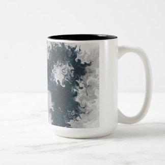 Double Tornado Two-Tone Coffee Mug