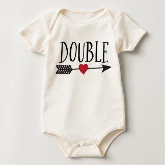 Double Trouble Baby Bodysuit