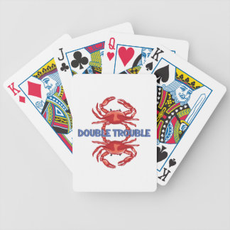 Double Trouble Bicycle Playing Cards
