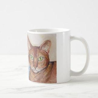 double trouble cats coffee mug