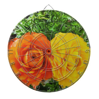 Double Trouble Flower Dart Boards