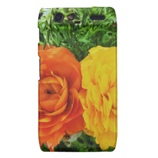 Double Trouble Flower Droid RAZR Case