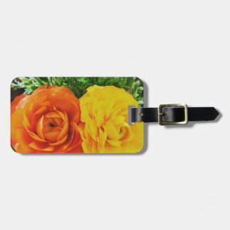 Double Trouble Flower Luggage Tag