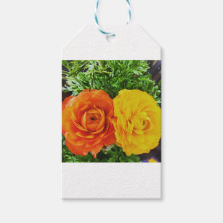 Double Trouble Flower Pack Of Gift Tags