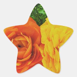 Double Trouble Flower Star Sticker
