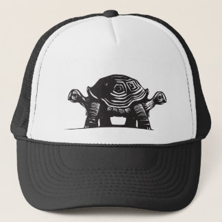 Double Turtle Trucker Hat