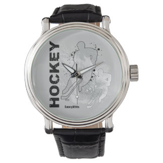 Double Vision Hockey (male) Wristwatch