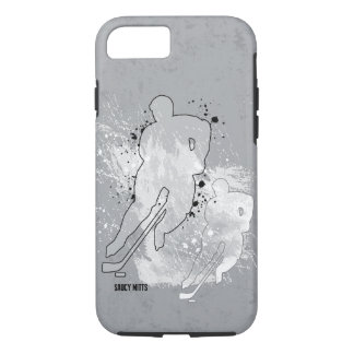 Double Vision Hockey Player iPhone 8/7 Case