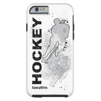 Double Vision Women's Hockey Tough iPhone 6 Case