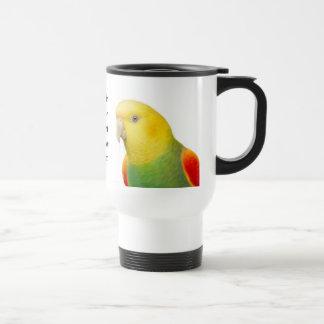 Double Yellow Headed Amazon Travel Mug