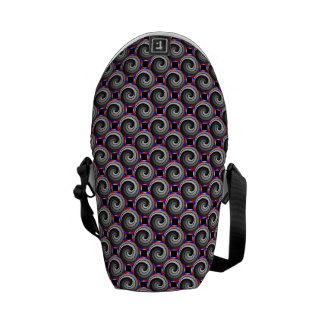 Double Yin Yang Spiral Courier Bags