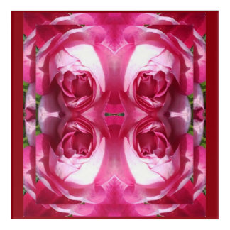 Doubled up Rose Fractal -Photo Art