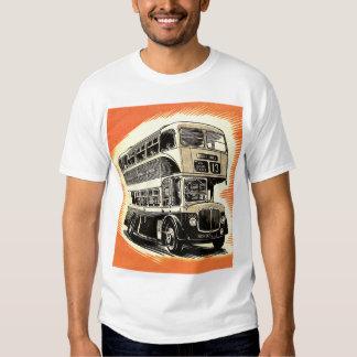Doubledecker Bus Coach UK Vintage Retro Shirts
