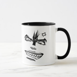 Doubleman Happy / Angry Emotions Mug