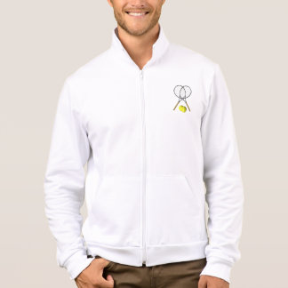 Doubles Tennis Sport Theme Jacket