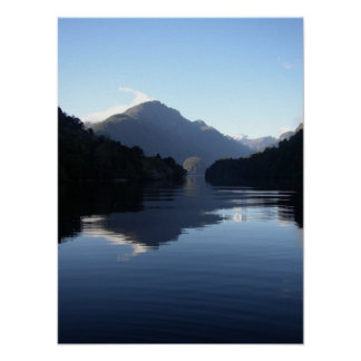 Doubtful Sound New Zealand Poster