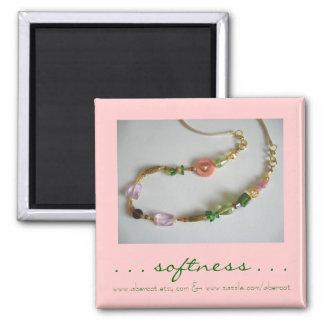 Douceur d'aimant perlé de collier