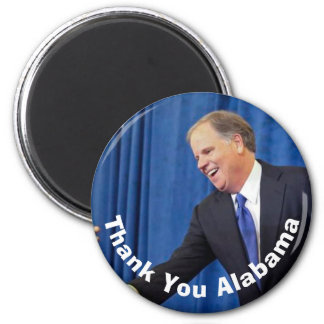 Doug Jones - Thank You Alabama Magnet
