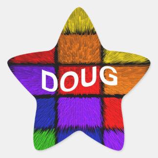 DOUG STAR STICKER