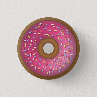Doughnut 1 Inch Round Button
