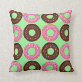 Doughnut Frenzy Throw Cushion