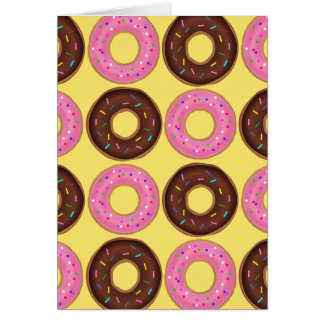Doughnut Happy Birthday Card