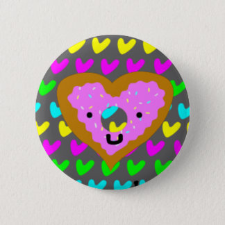 Doughnut Heart Pin