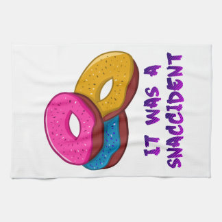Doughnut It was a snaccident Kitchen Towel