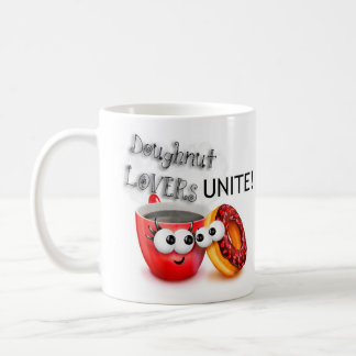 Doughnut Lovers UNITE Coffee Mug