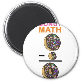 Doughnut Math 2 Inch Round Magnet