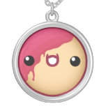 Doughnut Necklace Red